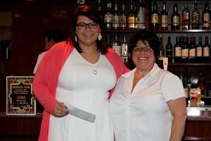 2015 SBMEF Outright Grant recipient Katie Enloe & Toby Ferrel (2014 - 2015 Neapolitan Chapter President)
