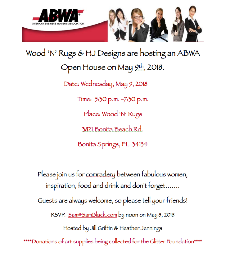 May Open House @ Wood 'N' Rugs | Bonita Springs | Florida | United States